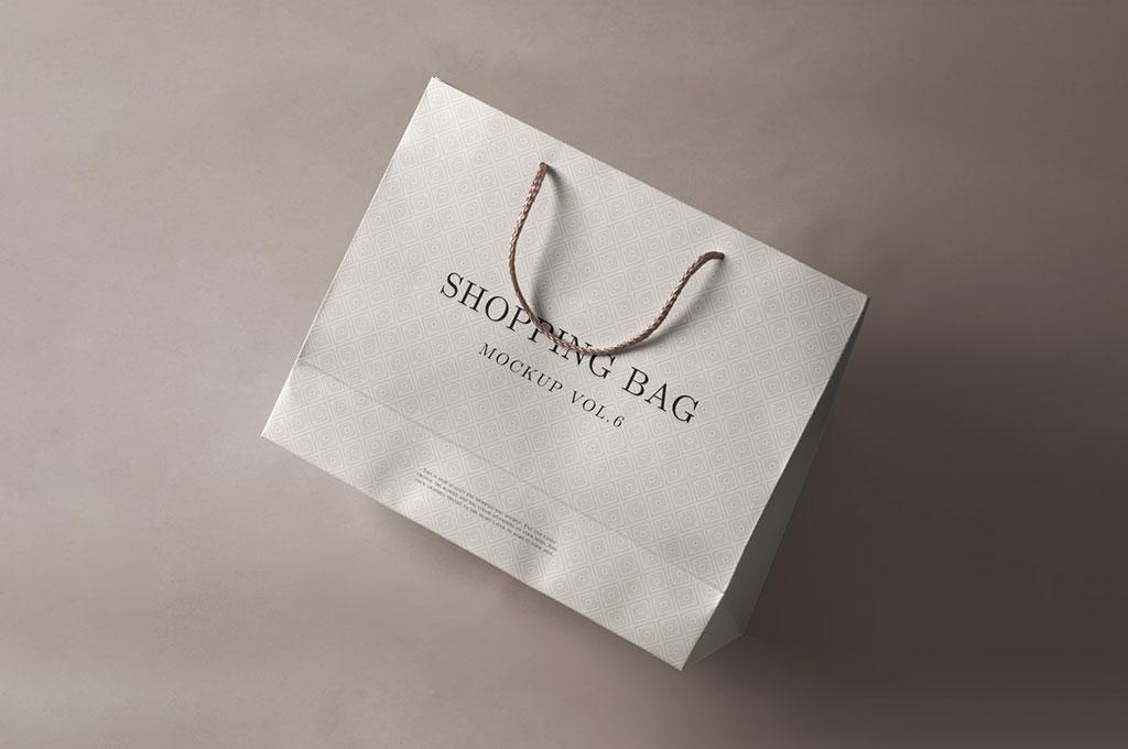 PSD Shopping Bag Mockup