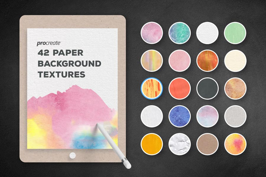 Paper Background Textures for ProCreate