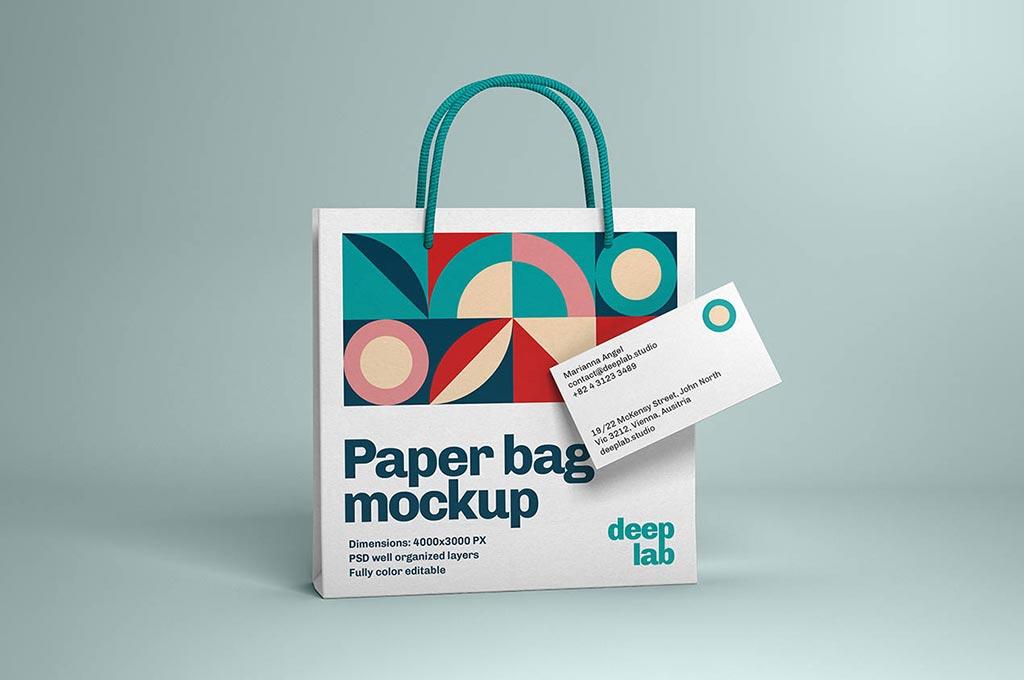 Paper Bag & Business Card