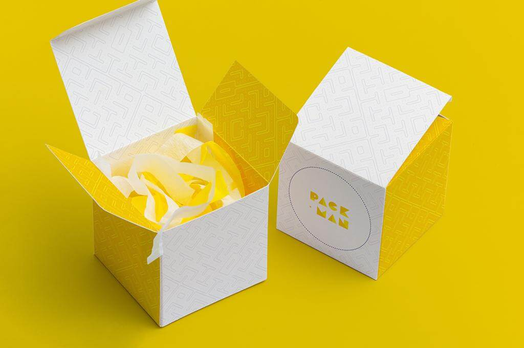 Paper Box Mockups Set