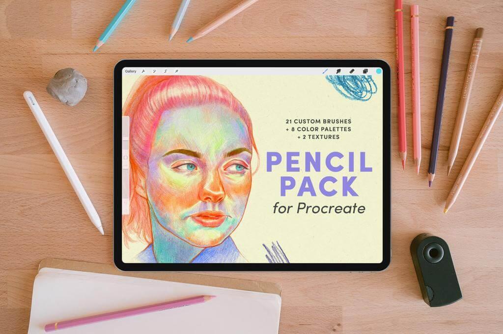 Pencil Pack — Procreate Brushes