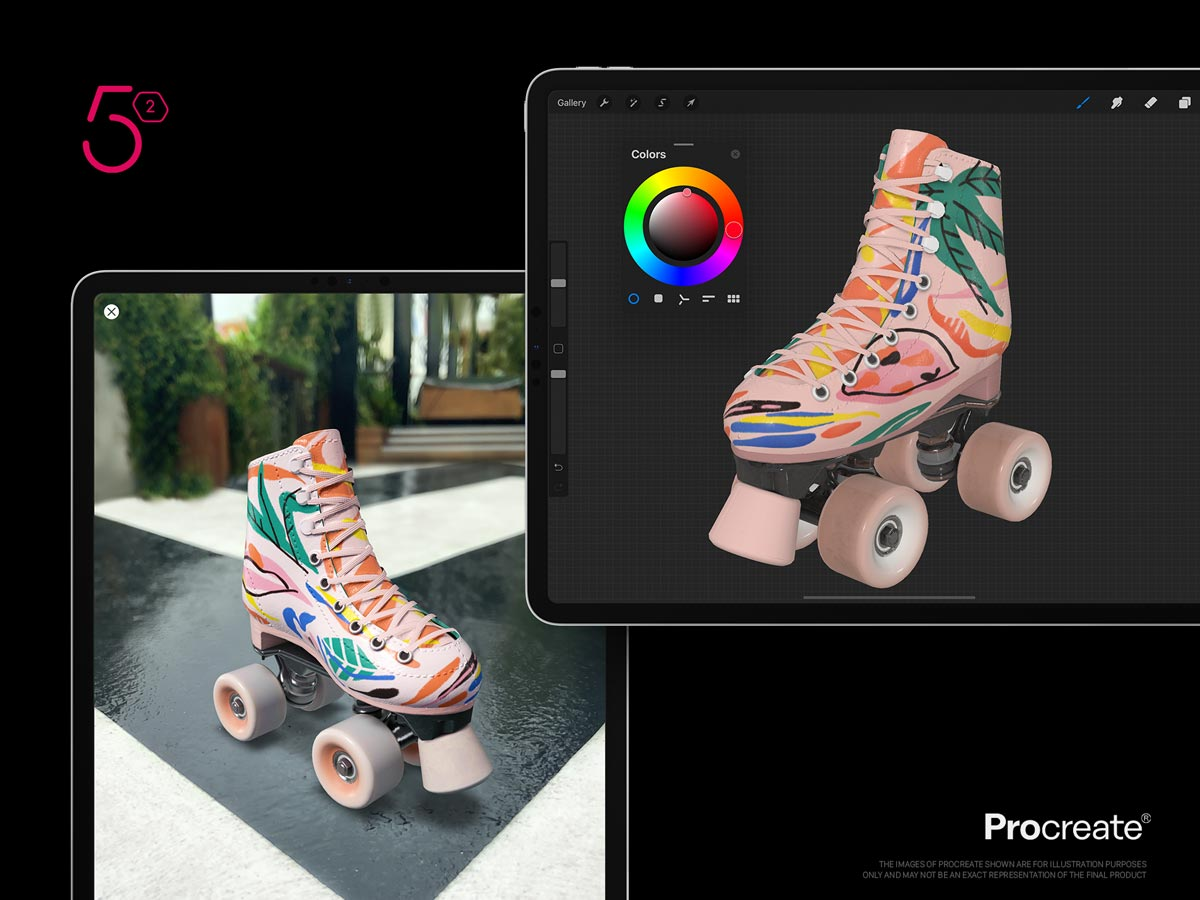 Preview 3D Artworks in Augmented Reality