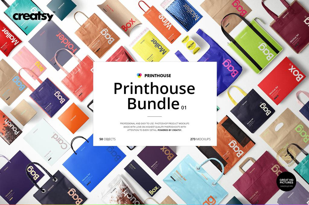 Printhouse Mockups Bundle