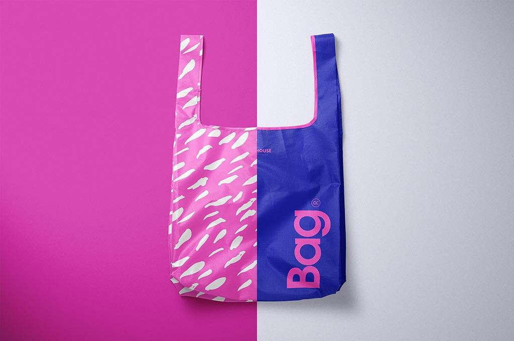 Ripstop Reusable Bag Mockup Set
