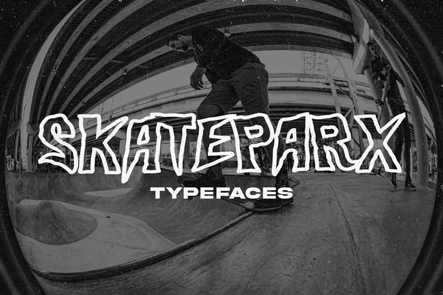 Skateparx - Typeface