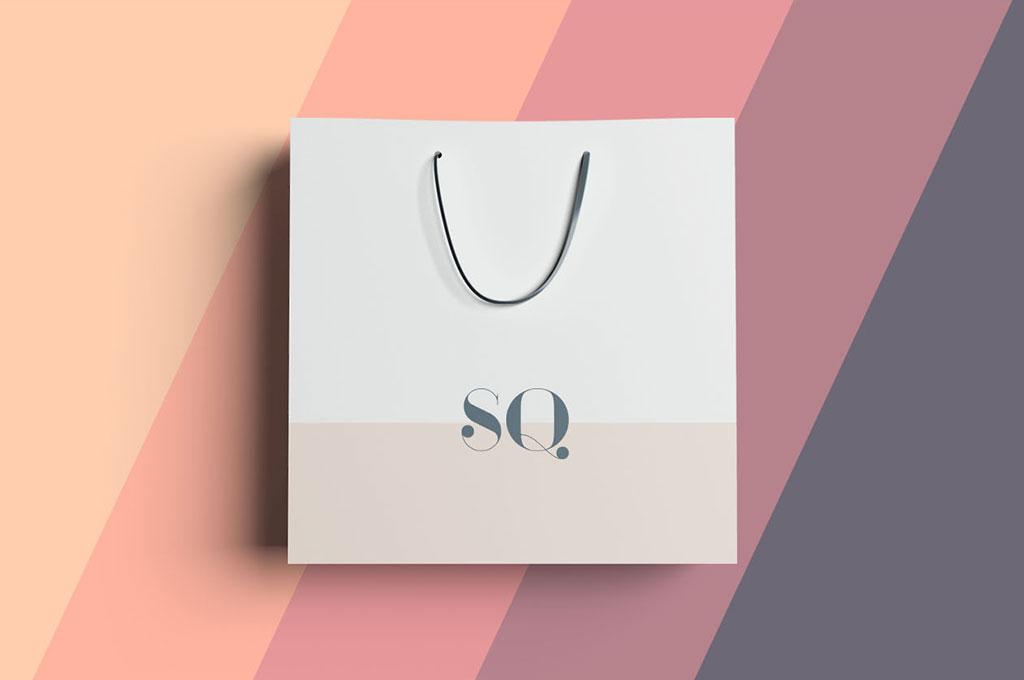 Square Bag Mockup