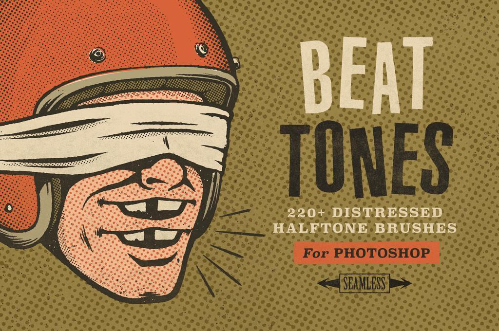 Beat Tones Halftone Brushes