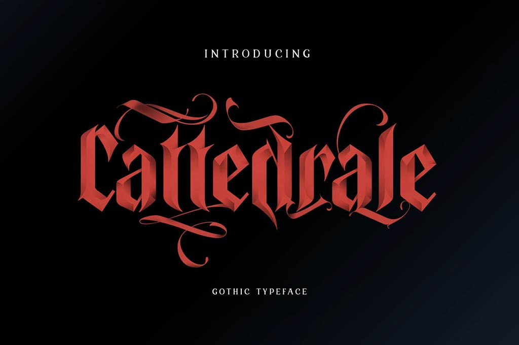 Cattedrale — Gothic Blackletter