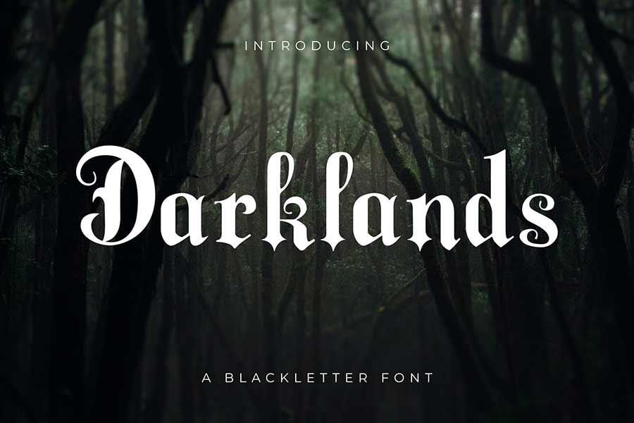 Darklands — A Blackletter Font