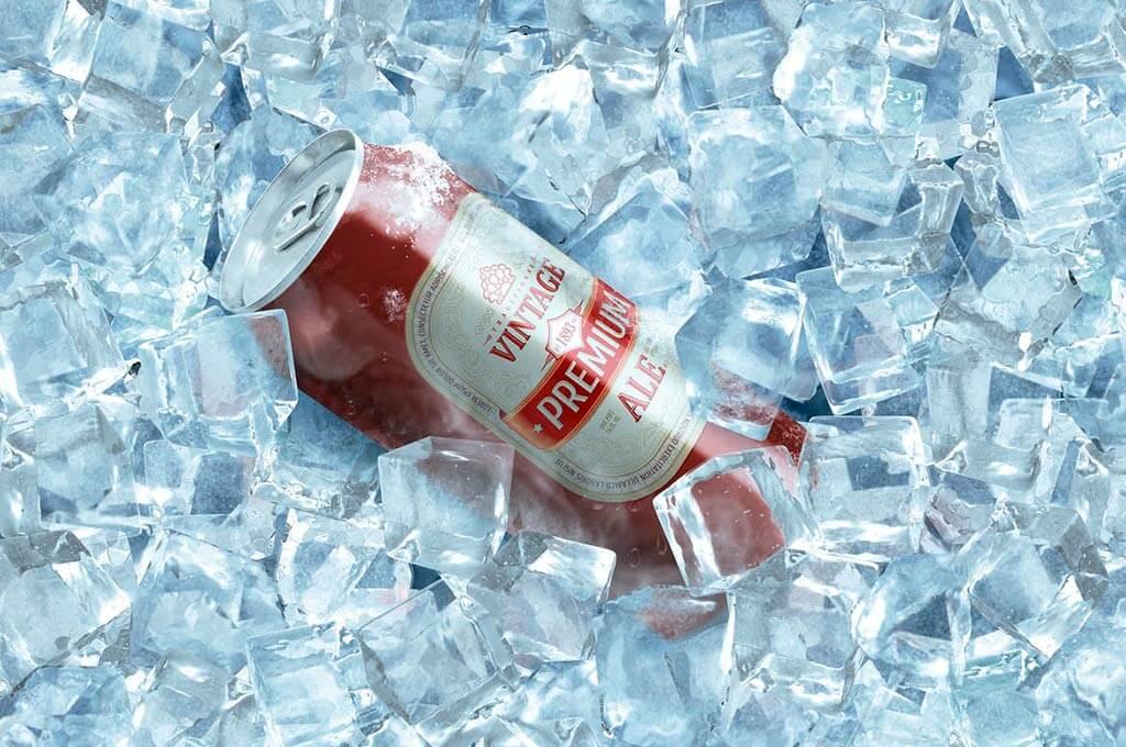 Frozen Beer Can Mockup