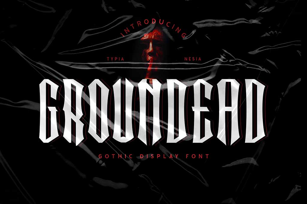 Groundead — Gothic Font