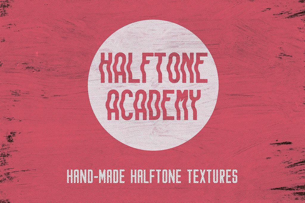 Halftone Textures Set