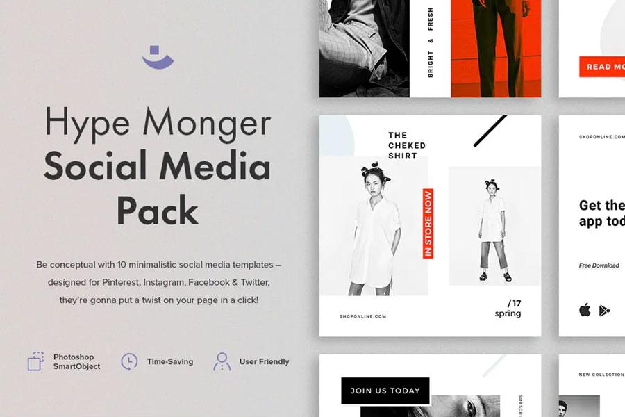 Hype Monger Social Media Pack