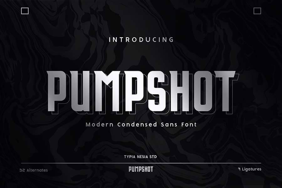 Pumpshot - Sport and Fashion Sans