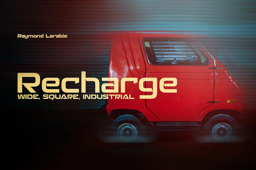 Recharge Font