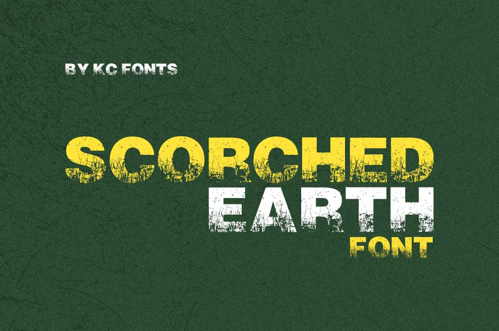 Scorched Earth Font