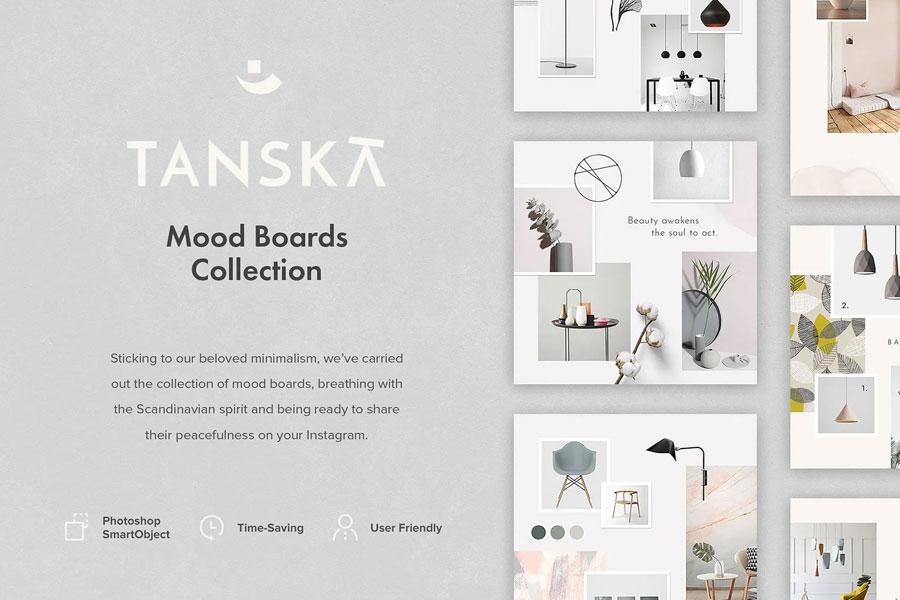 Tanska Mood Boards Collection