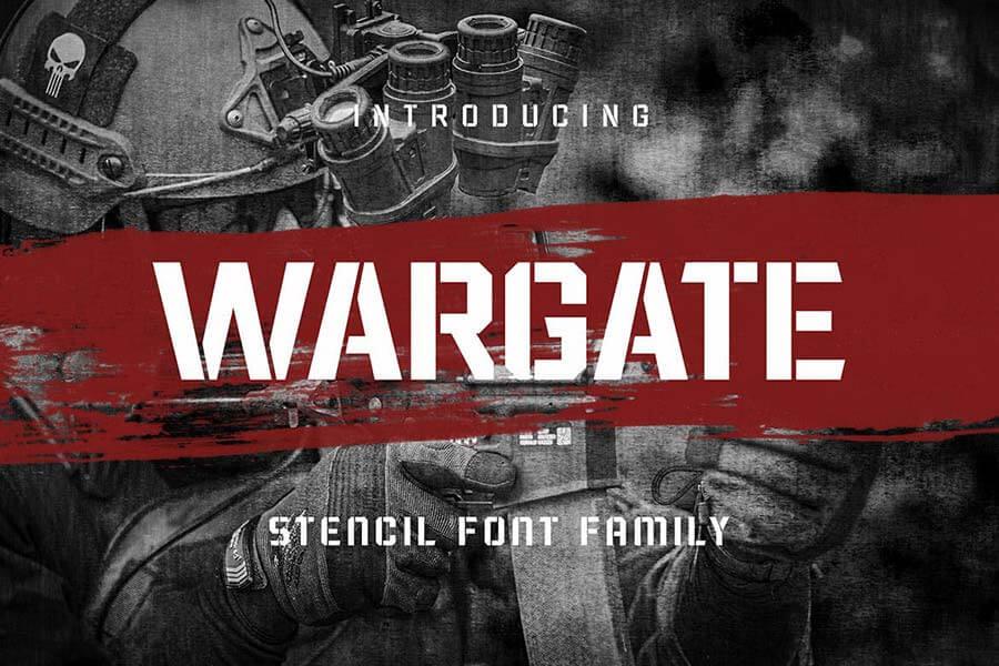 Wargate - Stencil Family