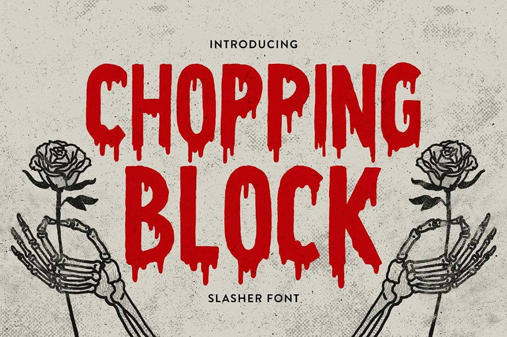 Chopping Block Font