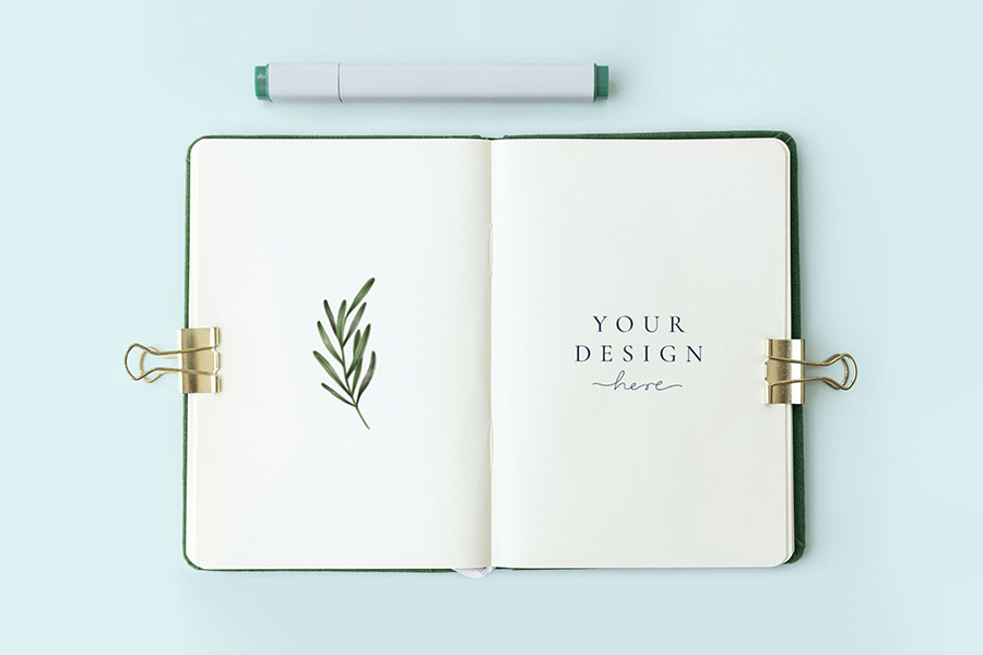 Blank Notebook Page Template