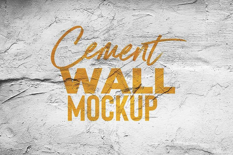 Cement Wall Mock Up