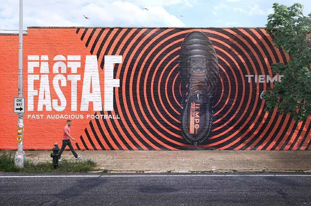 Mural Wall Mockup Scenes