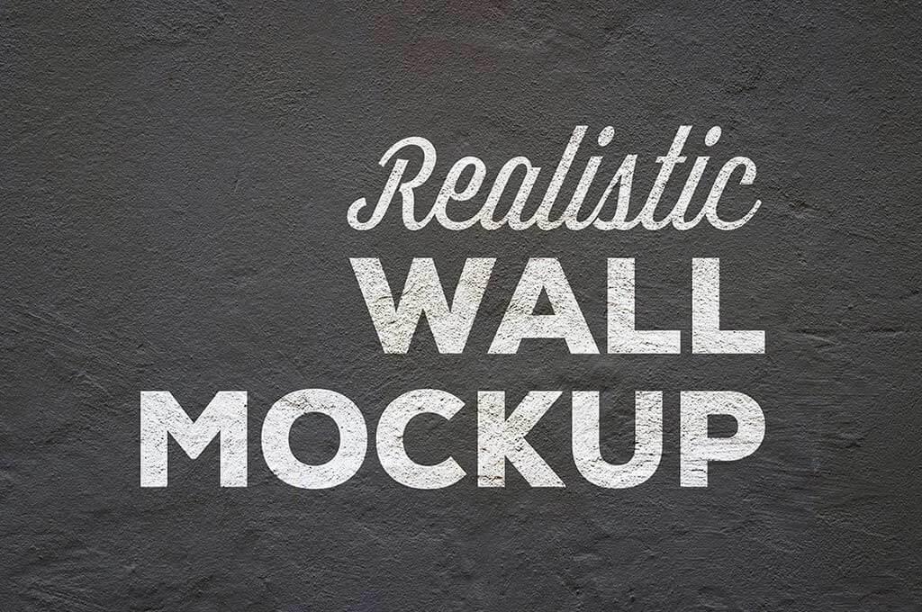 Realistic Wall Mockup
