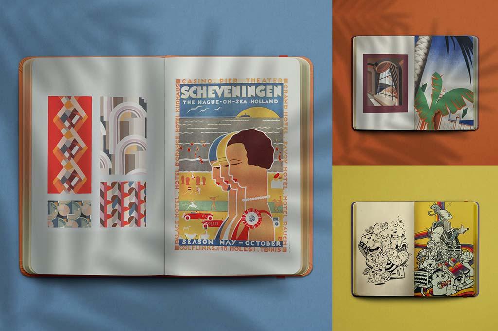 Sketchbook : Notebook Mockup