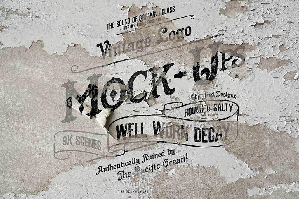 Vintage & Rustic Logo Mock-Up