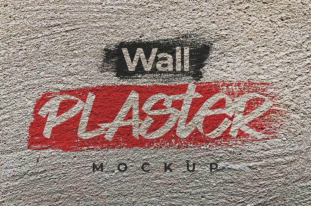 Wall Plaster Mockup