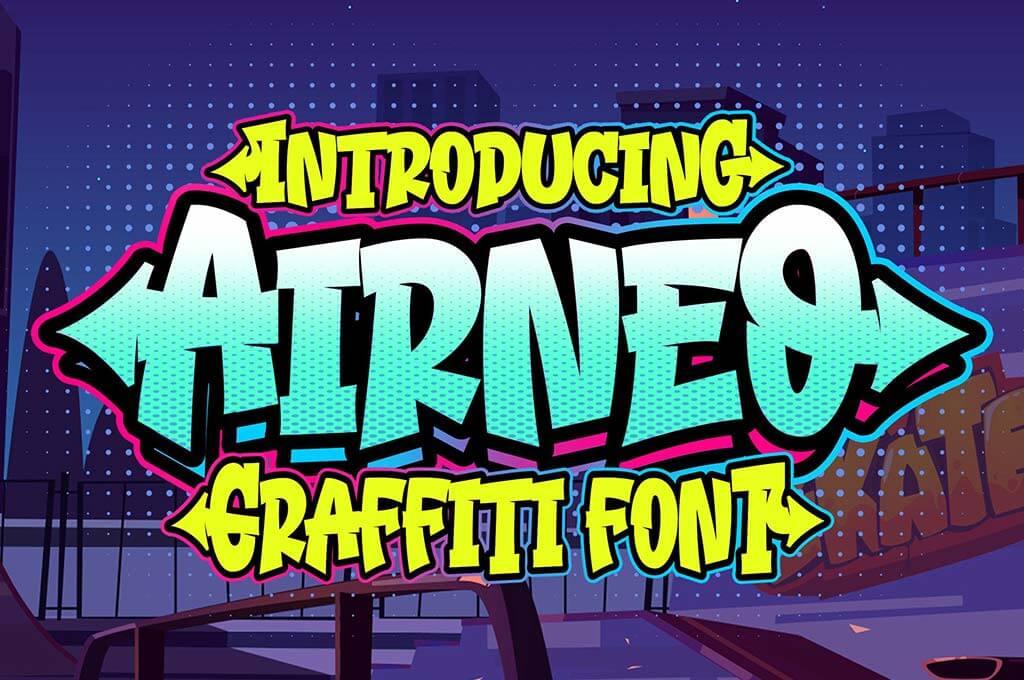 Airneo Graffiti Font