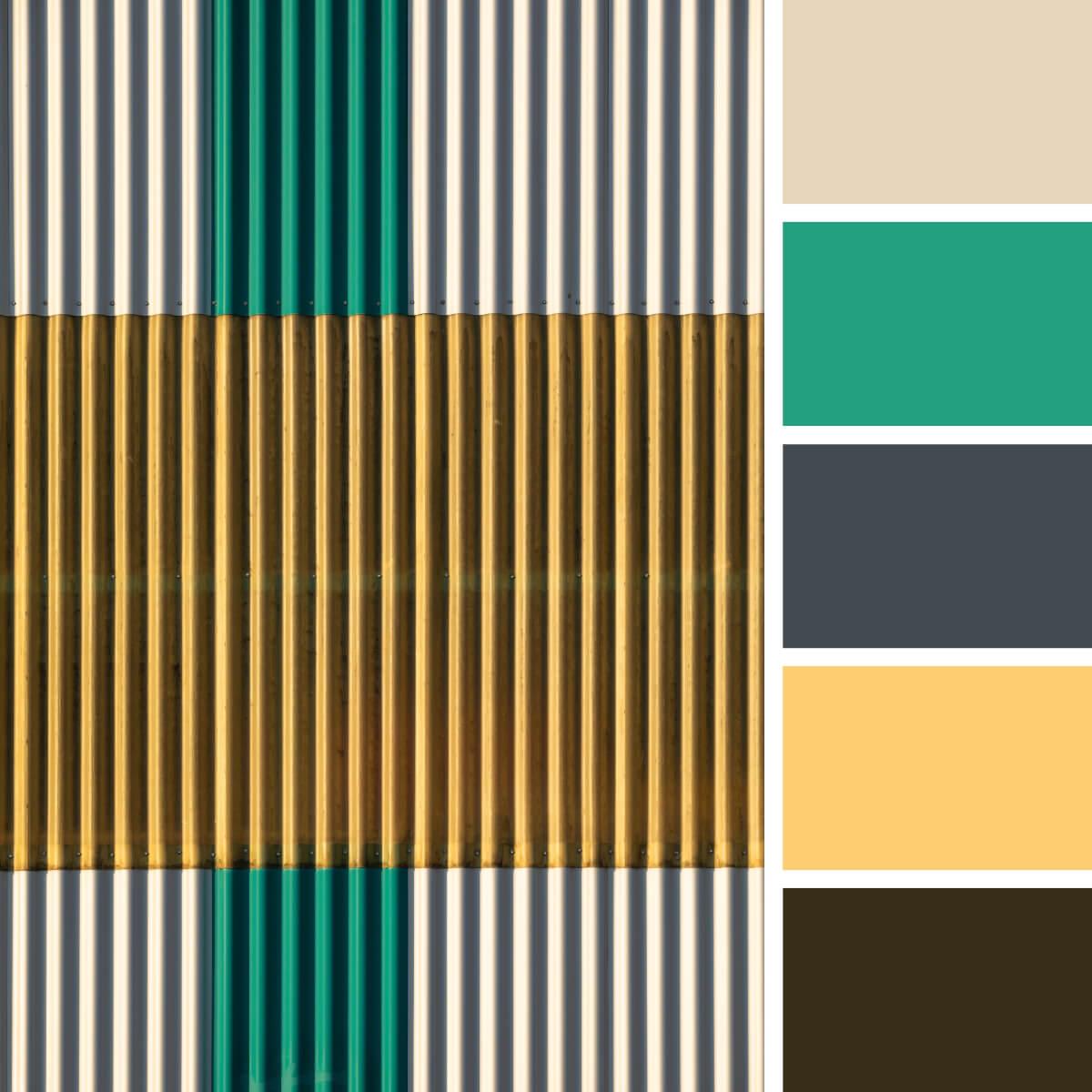 Basic Green, Yellow & Gray