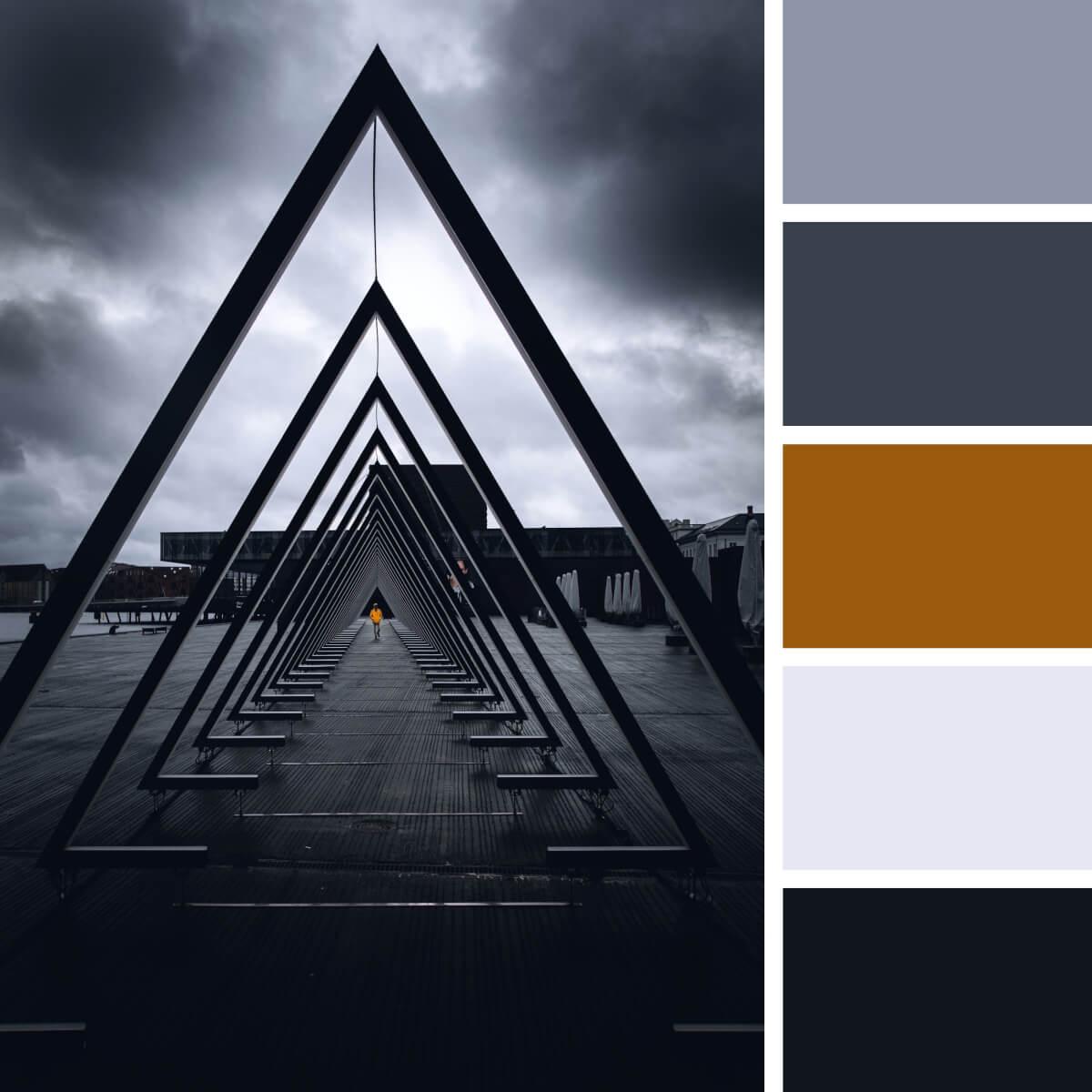 Cinematic Gray & Black