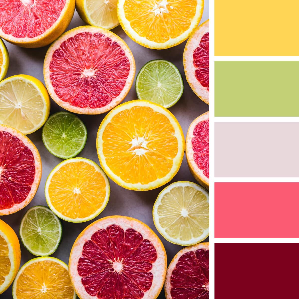 Citrus Yellow & Colorful