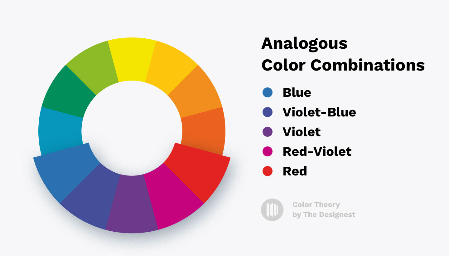 Color Theory - Analogous color combinations