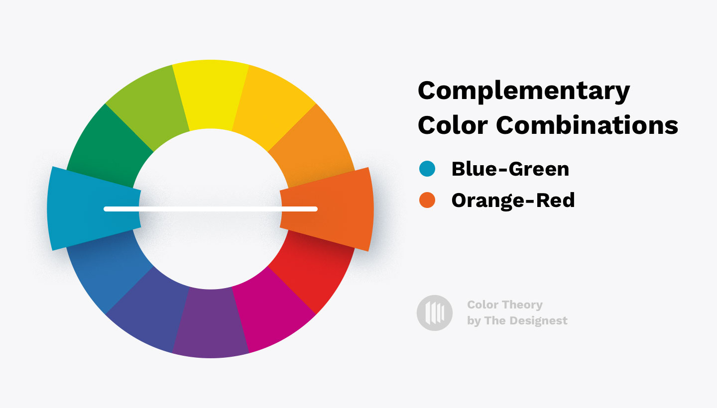 Color Theory - Complementary color combinations