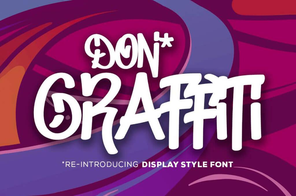 Don Graffiti - Free Font