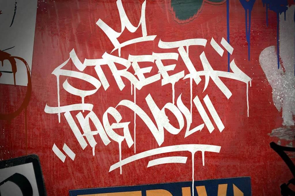Graffiti Font   Street Tag Vol2