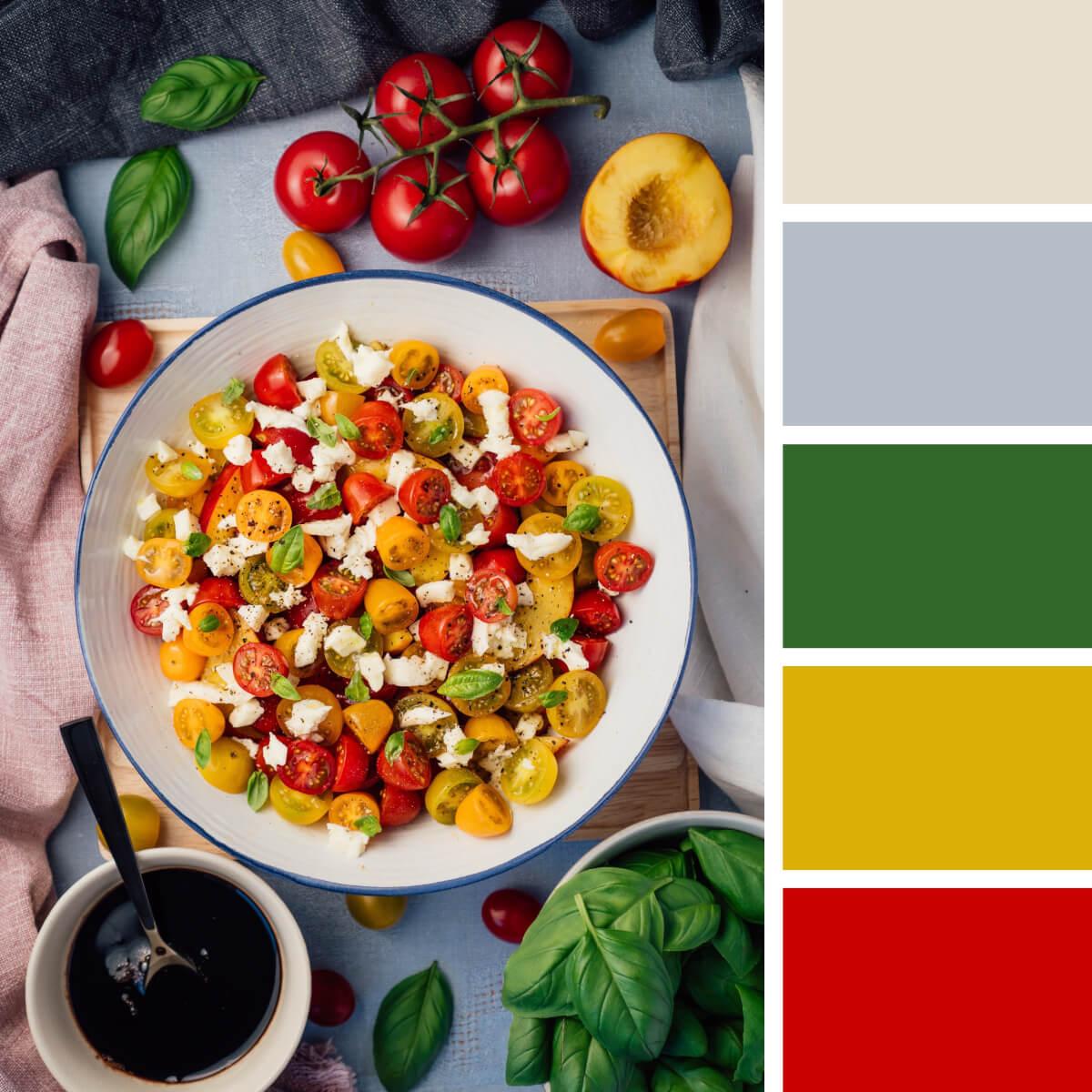 Italian Red & Yellow