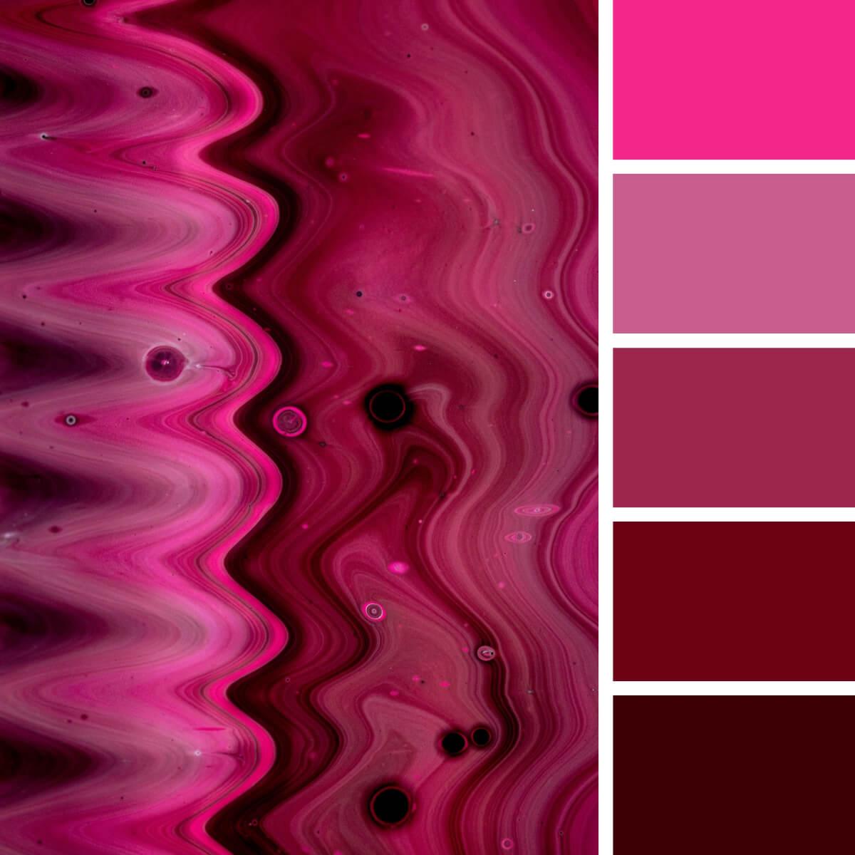 Liquid Pink & Fuchsia