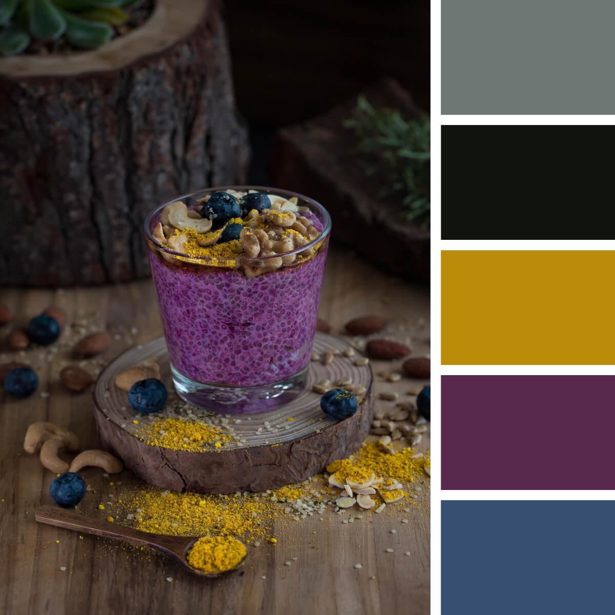 Noble Purple & Mustard
