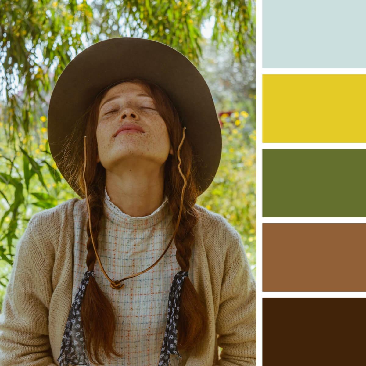 Rustic Greens & Brown