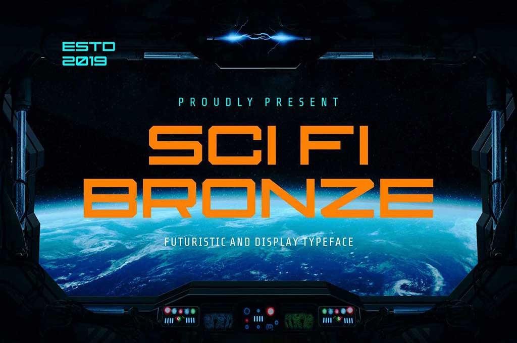 Sci-Fi Bronze