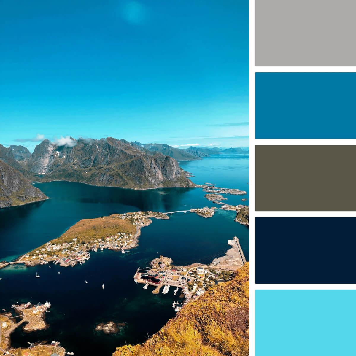 Sea Blue & Teal
