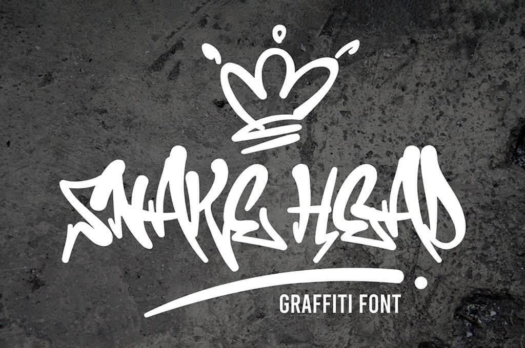 Snakehead - Awesome Graffiti Font