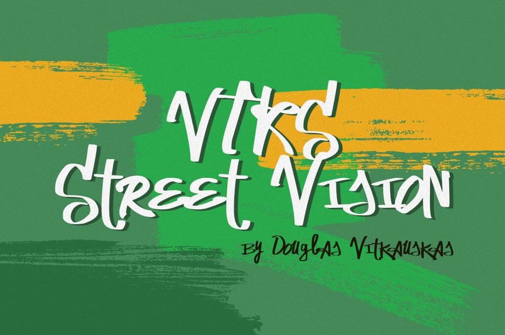 VTKS Street Vision Font