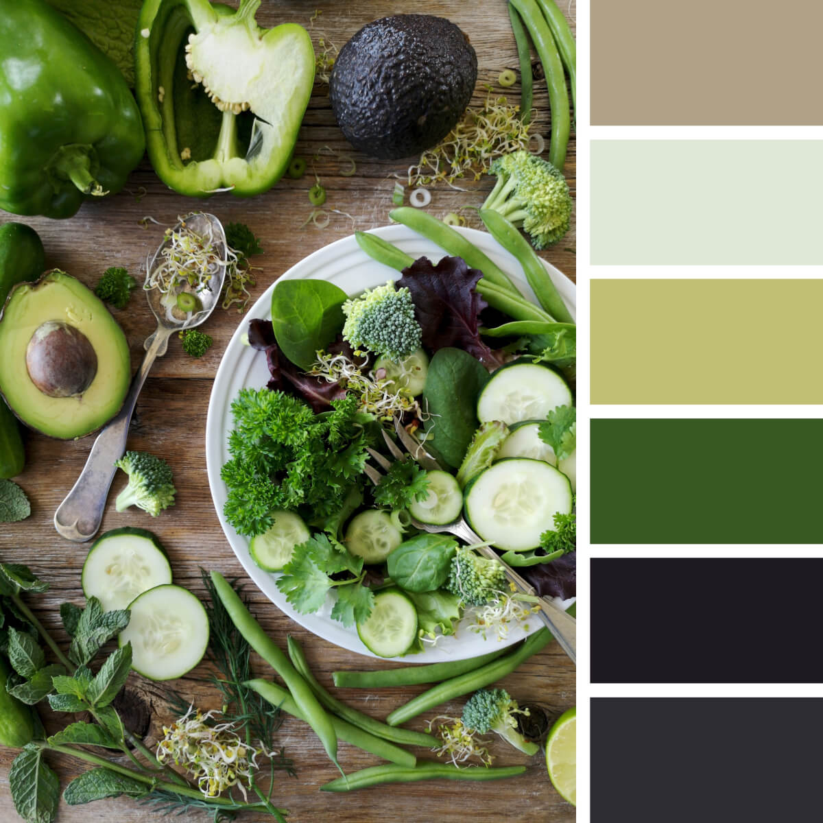Vitamin Greens & Purple
