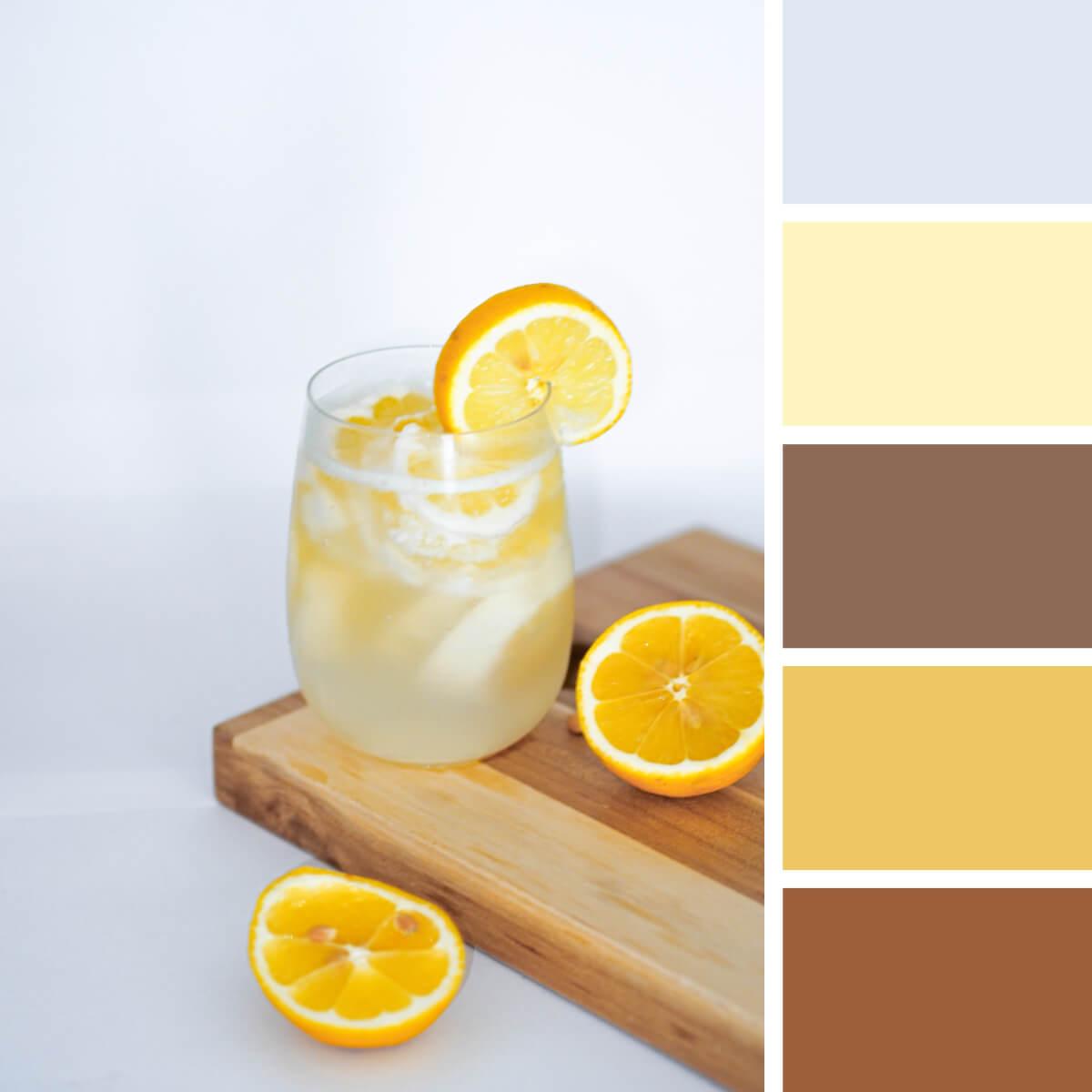 Wood & Lemon Yellow