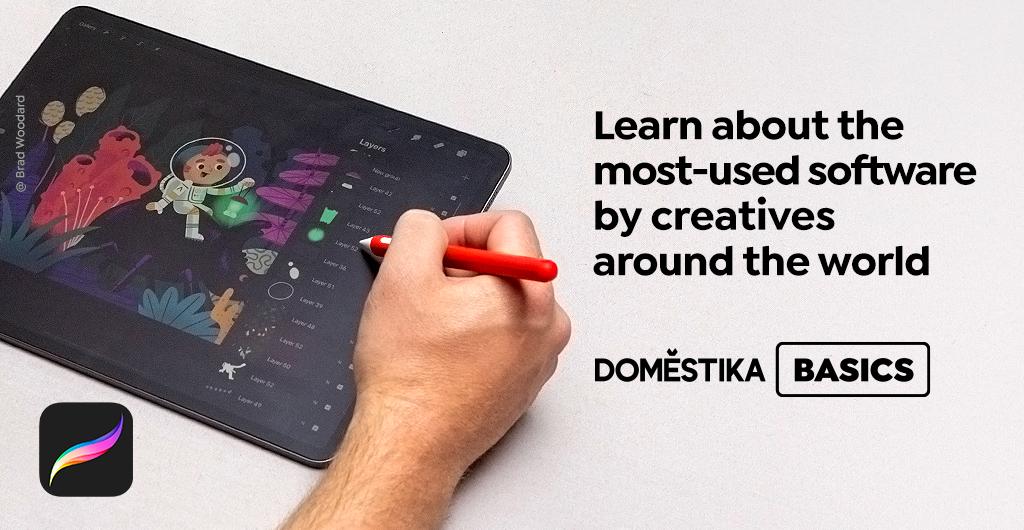 Domestika Basics —Procreate for Beginners