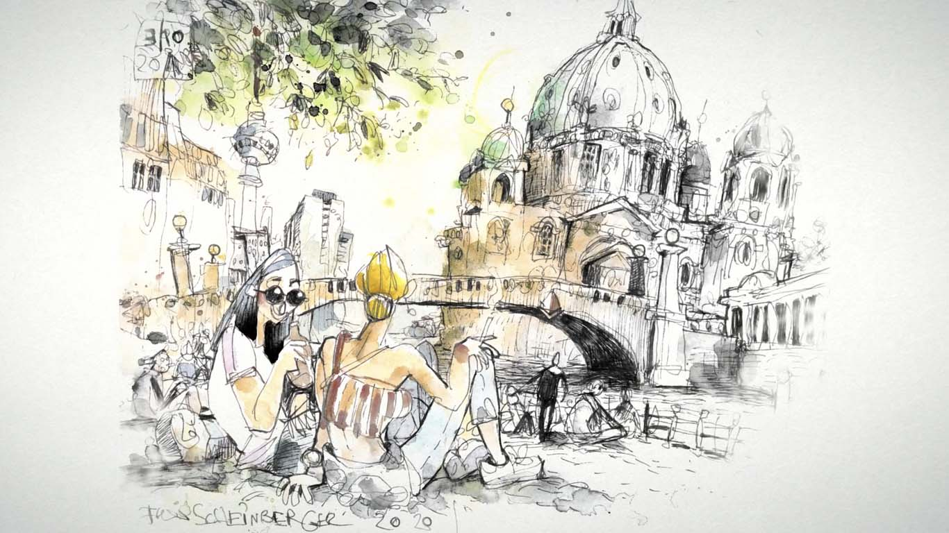 Artistic Watercolor Sketching Dare to Express Your Ideas